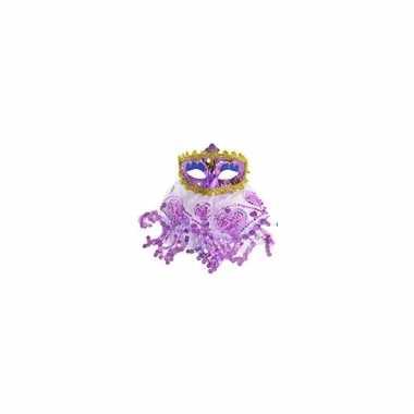 1001 nachten oogmasker paars