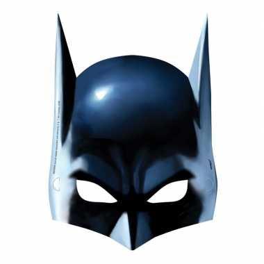 Batman gezichtsmasker 8 stuks