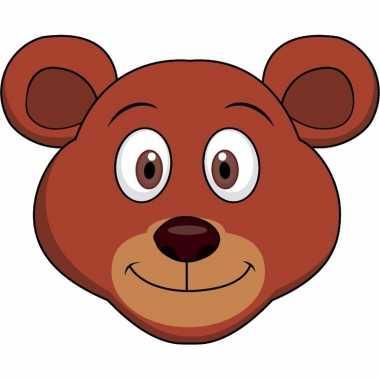Beren maskers knutselen pakket