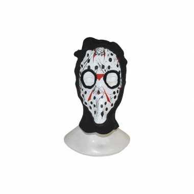 Bivakmuts met Halloween masker