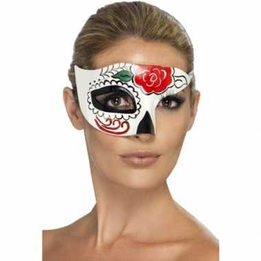 Day of the dead masker van plastic