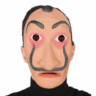 Feest la casa de papel look-a-like masker voor volwassenen