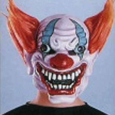 Feest masker gestoorde clown