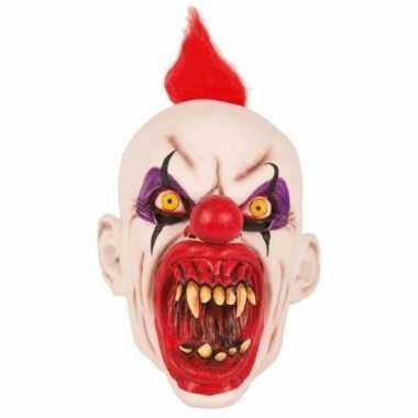 Feest masker horror scary clown punky