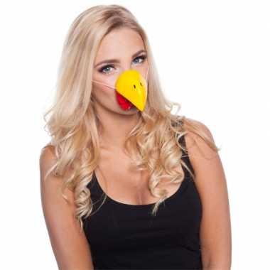 Feestneus kip voor volwassenen masker