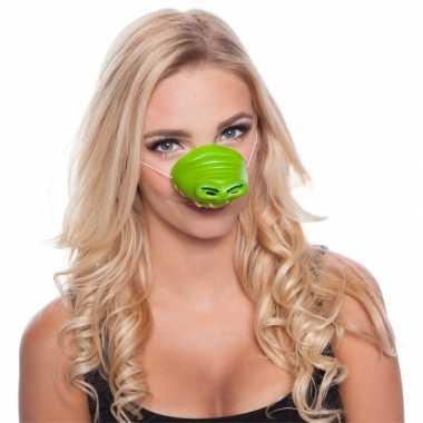Feestneus krokodil voor volwassenen masker