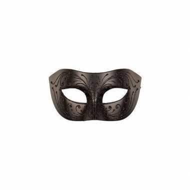 Gemaskerd bal oogmasker zwart