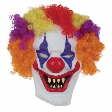 Halloween masker enge horror clown