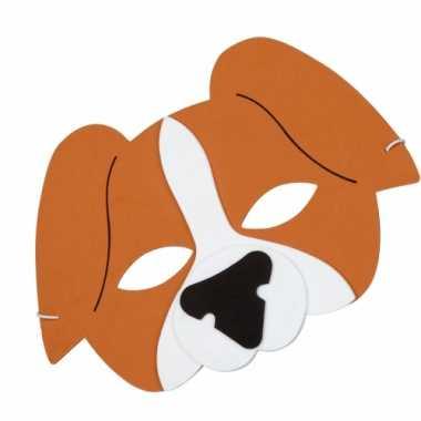 Hond verkleed masker