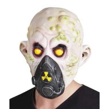 Horror nucleair slachtoffer horror masker van latex