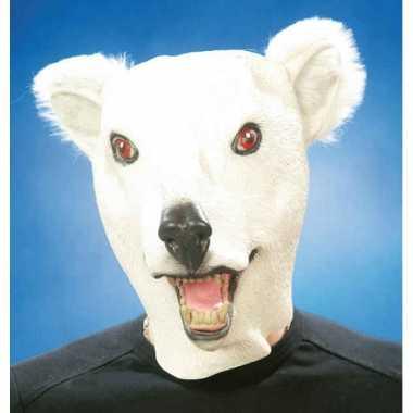 Ijsbeer masker van latex