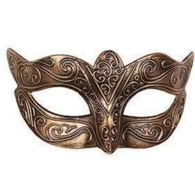 Italiaans oogmasker goud