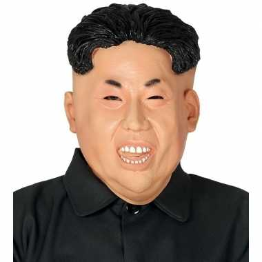 Kim jong dictator noord korea maskers van latex