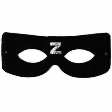 Kinder Zorro masker zwart