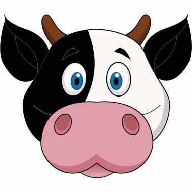 Koeien maskers knutselen pakket