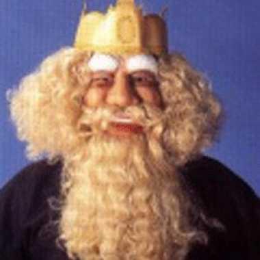 Konings masker van rubber