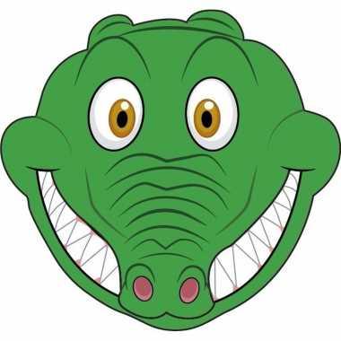 Krokodillen maskers knutselen pakket