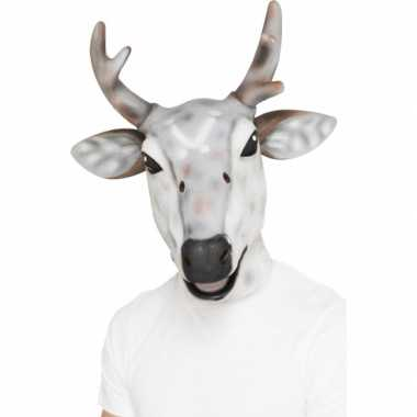 Latex dierenmasker rendier