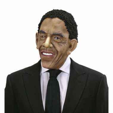 Masker en pruik Barack Obama