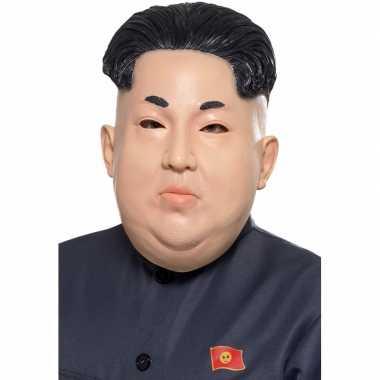 Noord koreaanse leider masker voor volwassenen