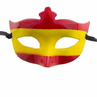 Oogmasker in de kleuren van Spanje