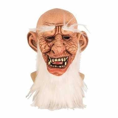 Oude mannen masker van latex