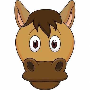 Paarden maskers knutselen pakket