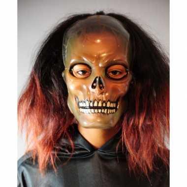 Plastic schedel masker transparant