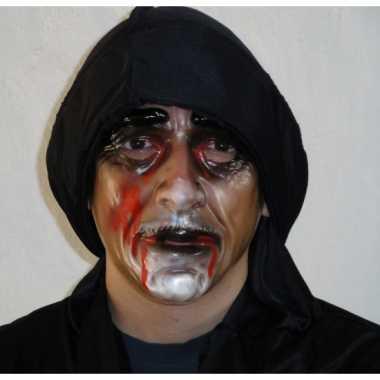 Plastic zombie man masker