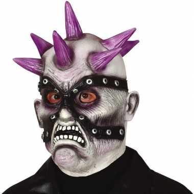 Punk zombie monster masker van latex