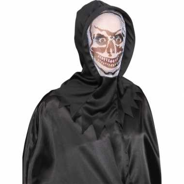Skeletten masker wit