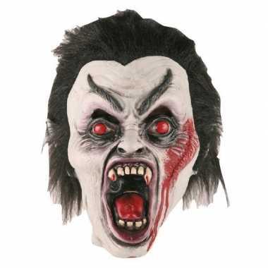 Vampier masker van latex