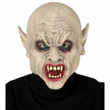 Vampier monster masker van latex
