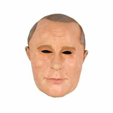 Vladimir poetin/putin van rusland masker van latex