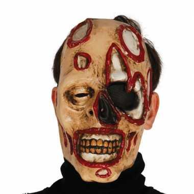Voordelige zombie masker voor volwassenen