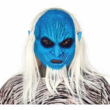 White walker monster masker van latex