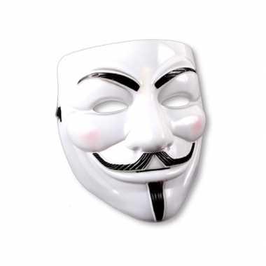 Wit maker voor een gemaskert feest
