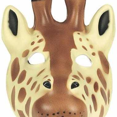 Zacht giraffe masker foam
