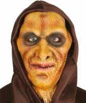 Halloween hagedisman masker van latex
