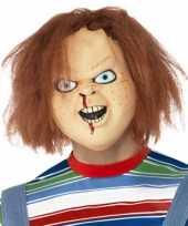 Horror hoofdmasker chucky