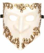 Venetiaans bauta masker wit