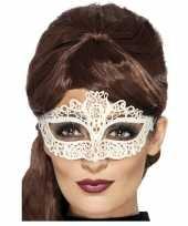 Wit kanten oogmasker voor dames